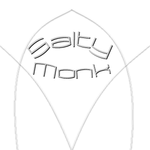 The Salty Monk Logo