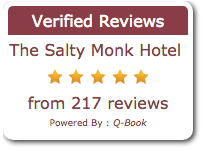 Reviews of The Salty Monk bnb Sidmouth